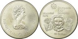World Coins - Coin, Canada, Elizabeth II, 10 Dollars, 1974, Royal Canadian Mint, Ottawa