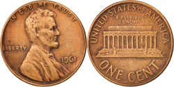 Us Coins - United States, Lincoln Cent, 1961, Philadelphia, , KM:201