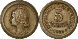 World Coins - Coin, Portugal, 5 Centavos, 1925, , Bronze, KM:572