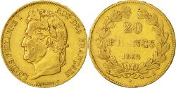 Ancient Coins - Coin, France, Louis-Philippe, 20 Francs, 1832, Rouen, VF(30-35), Gold, KM:750.2