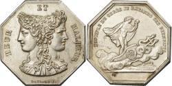 World Coins - France, Token, Club, Heur et Malheur, Gayrard, , Silver