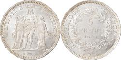 World Coins - Coin, France, Hercule, 5 Francs, 1873, Paris, , Silver, KM:820.1