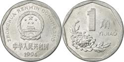 World Coins - Coin, CHINA, PEOPLE'S REPUBLIC, Jiao, 1994, , Aluminum, KM:335