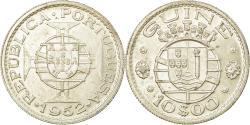 World Coins - Coin, Guinea-Bissau, 10 Escudos, 1952, , Silver, KM:10