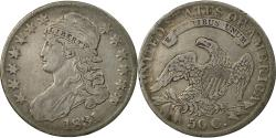 Us Coins - Coin, United States, Capped Bust, Half Dollar, 1831, U.S. Mint, Philadelphia