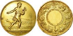 World Coins - France, Medal, Société d'Agriculture du Havre, Lagrange, , Gold