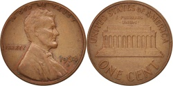 Us Coins - United States, Lincoln Cent, 1964, Denver, , KM:201