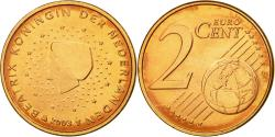 World Coins - Netherlands, 2 Euro Cent, 2003, , Copper Plated Steel, KM:235