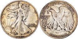 Us Coins - Coin, United States, Liberty Walking, Half Dollar, 1942, San Francisco