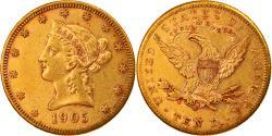 Us Coins - Coin, United States, Coronet Head, $10, Eagle, 1905, U.S. Mint, San Francisco