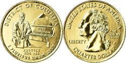 Us Coins - Coin, United States, Quarter, 2009, U.S. Mint, Philadelphia, golden,
