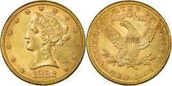 Us Coins - Coin, United States, Coronet Head, $10, Eagle,1882,Philadelphia,,KM 102