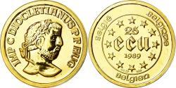 Ancient Coins - Coin, Belgium, 25 Ecu, 1989, , Gold, KM:173
