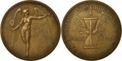 """World Coins - France, Medal, Journal """"Le Temps"""", Tasset, , Copper"""