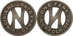 Us Coins - United States, Token, Virginia, Richmond, Virginia Railway & Power Company