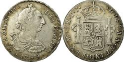 World Coins - Coin, Peru, Charles III, 8 Reales, 1788, Lima, , Silver, KM:78a