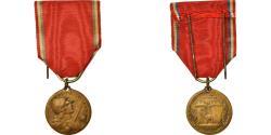 World Coins - France, Médaille de Verdun, Medal, 1916, Excellent Quality, Vernier, Bronze, 27