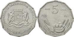 World Coins - Somalia, 5 Senti, 1976, , Aluminum, KM:24