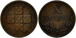 World Coins - Coin, Portugal, 10 Centavos, 1967, , Bronze, KM:583
