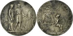 World Coins - France, Medal, Mariage, Fidélité Bonheur, 1908, Dropsy, , Silver