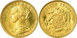 World Coins - Coin, Chile, 20 Pesos, 1961, , Gold, KM:168