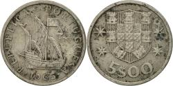 World Coins - Portugal, 5 Escudos, 1965, , Copper-nickel, KM:591