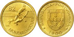 World Coins - Coin, Portugal, Escudo, Undated (1982), , Nickel-brass, KM:614
