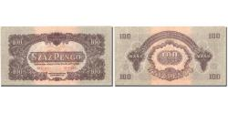 World Coins - Banknote, Hungary, 100 Pengö, 1944, KM:M8, UNC(63)