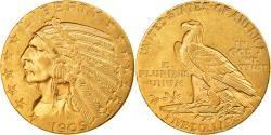 Us Coins - Coin, United States, Indian Head, $5, Half Eagle, 1909, Philadelphia,