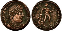 Ancient Coins - Coin, Valentinian I, Follis, 364-367, Siscia, , Bronze, RIC:5a