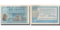 World Coins - France, Bon de Solidarité, 10 Francs, 1941, UNC(60-62)