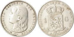 World Coins - Coin, Netherlands, Wilhelmina I, Gulden, 1892, , Silver, KM:117