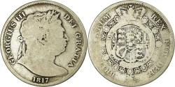 World Coins - Coin, Great Britain, George III, 1/2 Crown, 1817, , Silver, KM:672