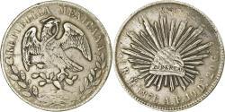 World Coins - Coin, Mexico, 8 Reales, 1876, Hermosillo, , Silver, KM:377.9