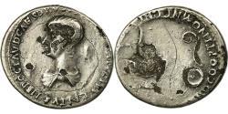 Ancient Coins - Coin, Nero, Denarius, Rome, VF(30-35), Silver, Cohen:312