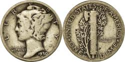 Us Coins - Coin, United States, Mercury Dime, Dime, 1930, U.S. Mint, Philadelphia
