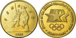 Us Coins - United States of America, Medal, Jeux Olympiques de Los Angeles, Fencing, 1984