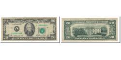 Us Coins - Banknote, United States, Twenty Dollars, 1985, KM:3747, VF(30-35)