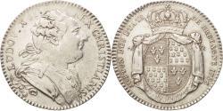 World Coins - France, Token, Royal, États de Bretagne, Rennes, Louis XVI, 1786, Duvivier