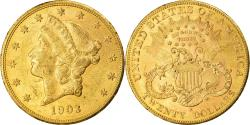 Us Coins - Coin, United States, Liberty Head, $20, Double Eagle, 1903, U.S. Mint, San