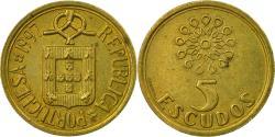 World Coins - Coin, Portugal, 5 Escudos, 1997, , Nickel-brass, KM:632