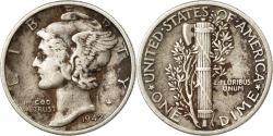 Us Coins - Coin, United States, Mercury Dime, Dime, 1942, U.S. Mint, Philadelphia