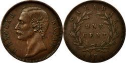 World Coins - Coin, Sarawak, Charles J. Brooke, Cent, 1870, Heaton, , Copper, KM:6