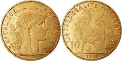 World Coins - Coin, France, Marianne, 10 Francs, 1900, Paris, , Gold, KM:846