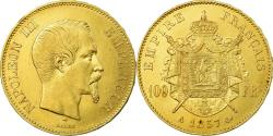World Coins - Coin, France, Napoleon III, 100 Francs, 1857, Paris, , Gold