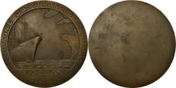 World Coins - France, Medal, Compagnie d'Assurances Maritimes, l'Océan, Shipping, 1837-1962