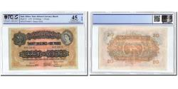 World Coins - Banknote, EAST AFRICA, 20 Shillings = 1 Pound, 1955, 1955-01-01, KM:35, graded