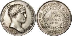 World Coins - France, Token, Napoléon Bonaparte, Comité des Notaires, 1840, Barre