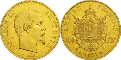Ancient Coins - Coin, France, Napoleon III, Napoléon III, 100 Francs, 1857, Paris,