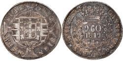 World Coins - Coin, Brazil, 960 Reis, 1819, Rio de Janeiro, , Silver, KM:326.1